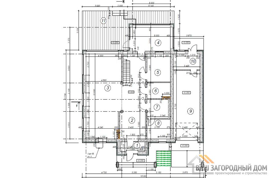 К-0436, план 1