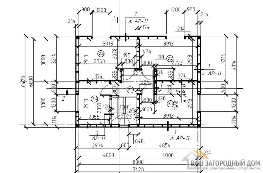 К-0432, план 2