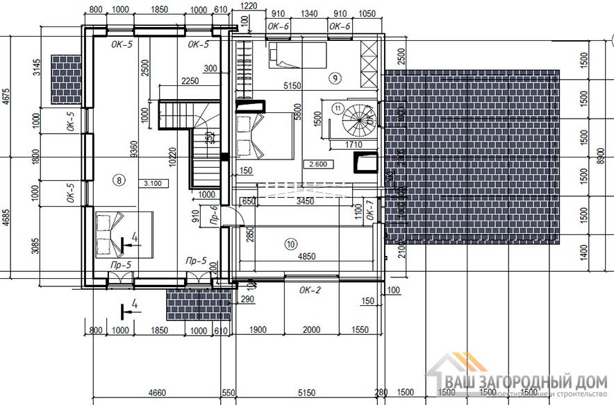 К-0434, план 2