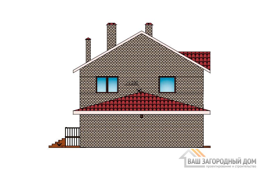 Проект 2 этажного газобетонного дома площадью 667 м2, К-02272