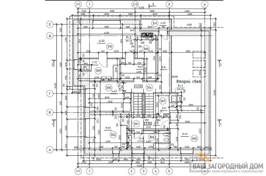 К-0433, план 3