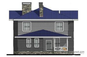 Проект классического дома в 2 этажа, общей площадью 265 м2, К-0112