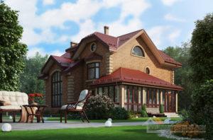 Проект 2 этажного дома, возведенного из керамических блоков площадью 487 м2, К-03792
