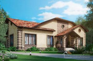 Проект 2 этажного газобетонного дома площадью 413 м2, К-0407