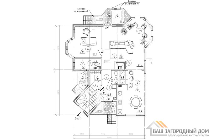 К-0284, план 1