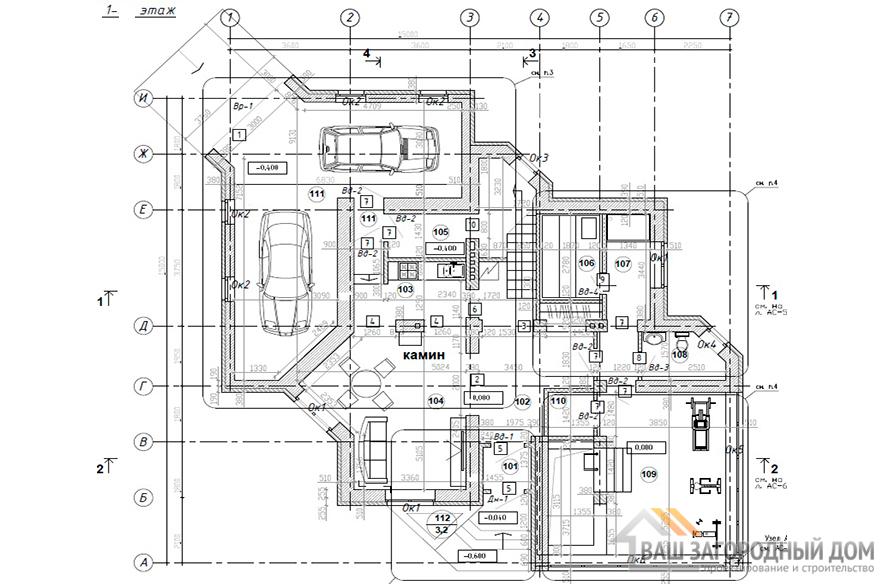 К-0308, план 1