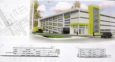 Проект многоуровнего паркинга