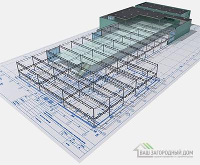 Проект складского здания
